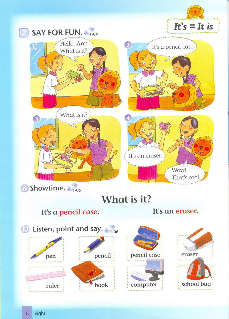 儿童英语教材